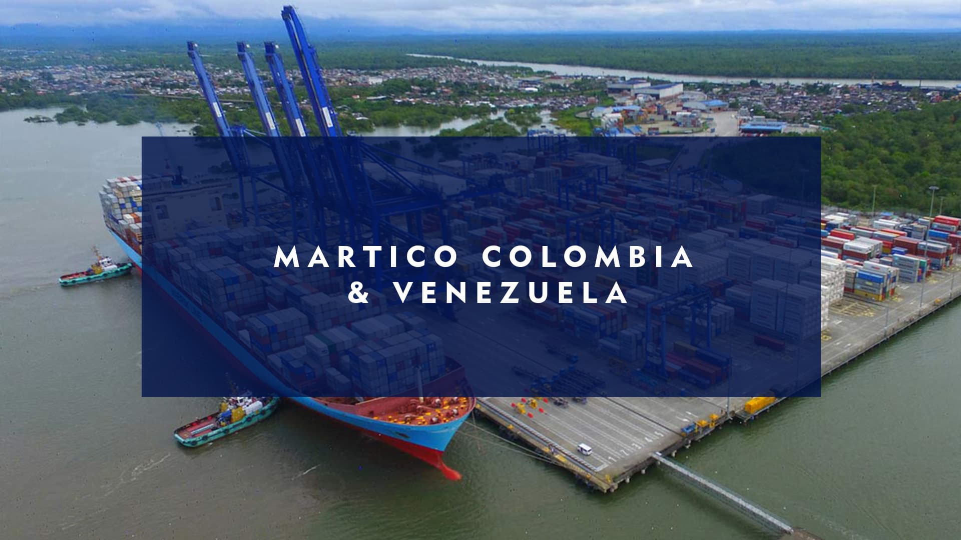 colombia venezuela port